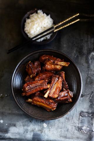 travers de porc hong shao