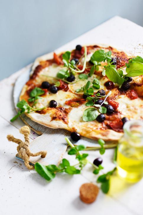 Végétarien - pizza caprese
