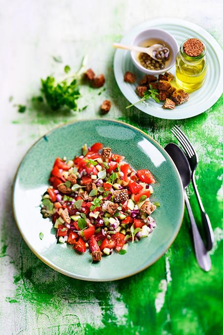 Tomates - panzanella