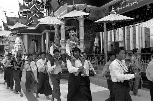 Myanmar - yangon - paya shwedagon