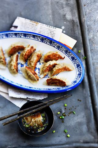 jiaozi au porc et ciboule