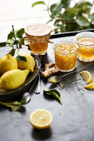 confiture de citron au gingembre