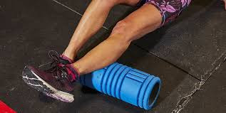 Personal training with a foam roller