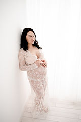 pregnant lady in maternity photo session in Surrey with Rachel Fairfield Photography