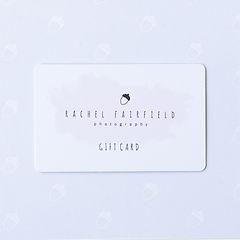 Rachel Fairfield Photography Gift Voucher