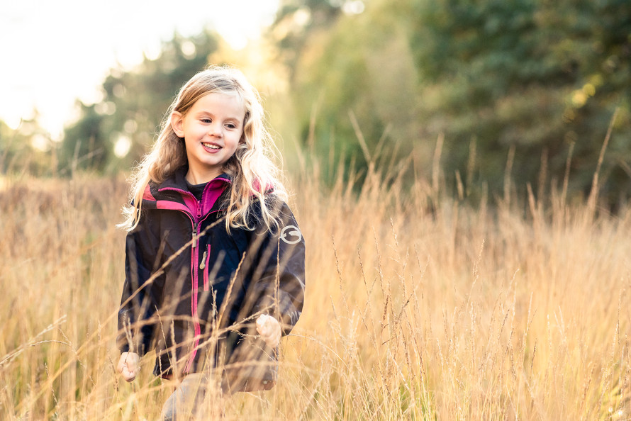 Golden Hour on Esher Common Surrey, Family Photographer Rachel Fairfield Photography