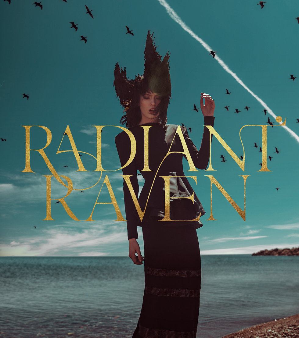 Radiant Raven by Studio Linear