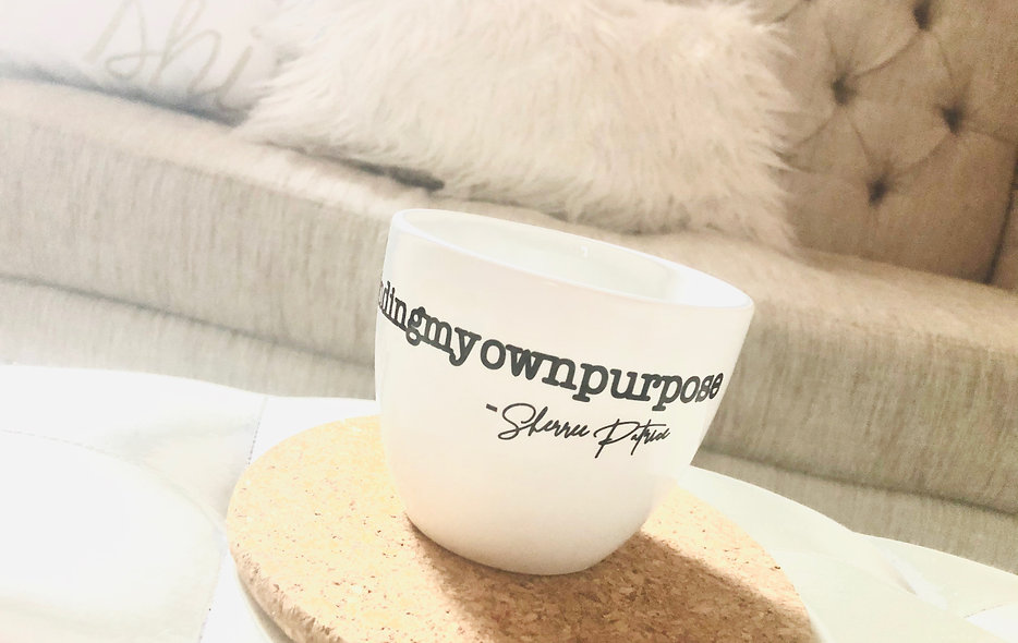16oz Coffee Mug #mindingmyownpurpose Collection Item