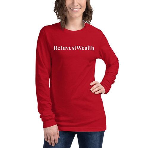 ReInvestWealth Official Women's Long Sleeve