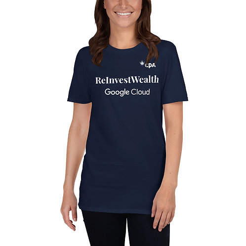 ReInvestWealth Official Women's Sponsor T-Shirt
