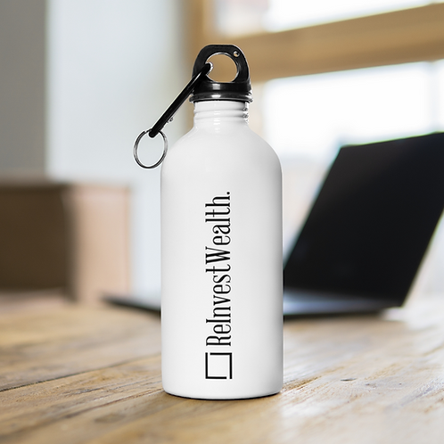 ReInvestWealth Stainless Steel Water Bottle