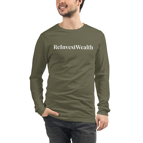 ReInvestWealth Official Men's Long Sleeve