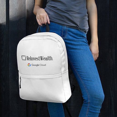 ReInvestWealth Backpack