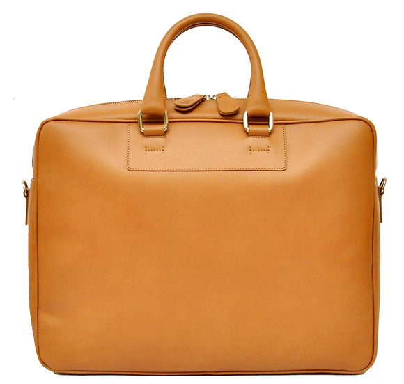 Core Business Leather Bag - Brown