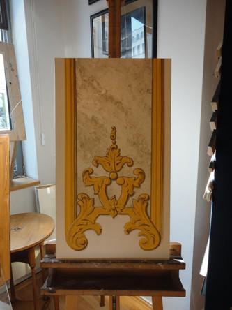 Marmorimitation und Graumalerei