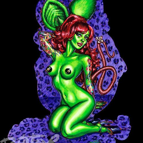 """BigToe's """"Vixen Fink"""" Limited Edition Art Print"""