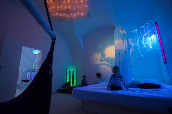 Snoezelen_Olomouc_relaxační_místnost