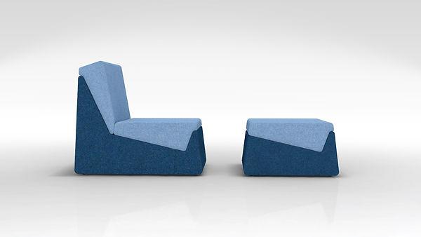 modul thibault pougeoise designer francais couleur changer varier ottoman fauteuil 1 place décorateur décoration loft petit espace made in france fabriqué en france