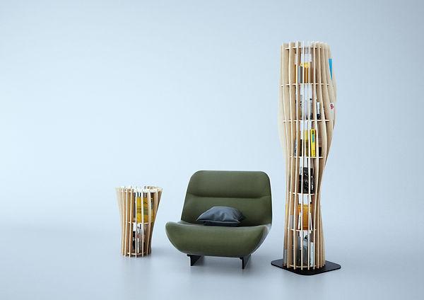 rouah 66 rouah66 table chevet bibliothèque lit chambre bedroom lire livre livingroom fauteuil détente lecture