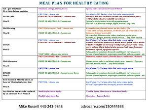General Meal Plan