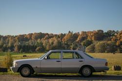 Mercedesas Panemunės kely