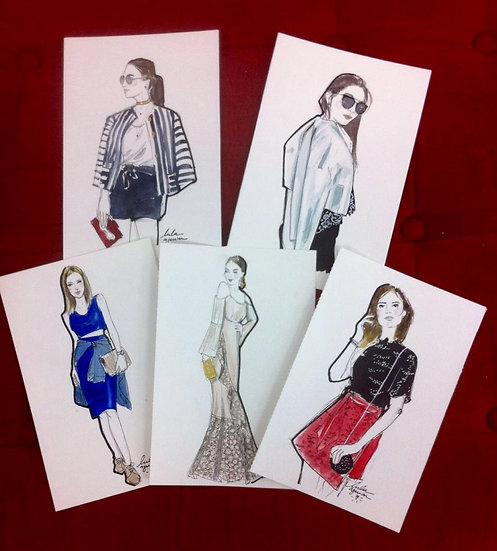 Pacote 5 sketchs