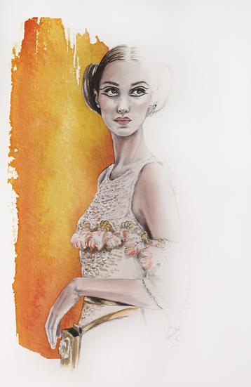 ILUSTRAÇÃO AUTORAL - Chanel #2