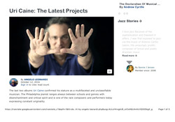 Uri Caine: The Latest Projects
