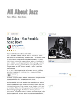 All About Jazz Italy