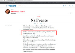 Jornal Estado de SP Online