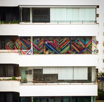 Instalação Urbana - Janela de Quarentena
