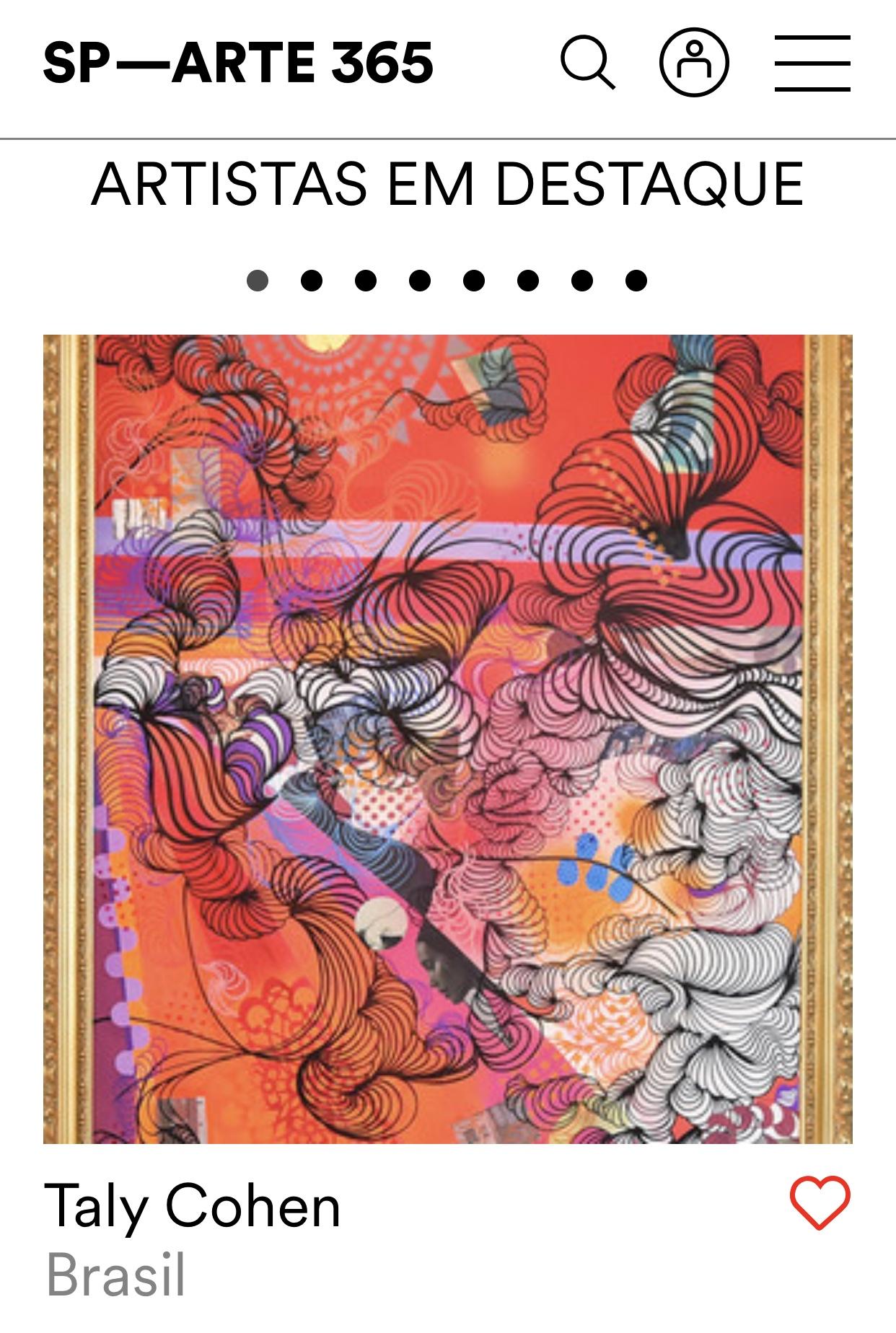 Artistas em Destaque | SP-ARTE