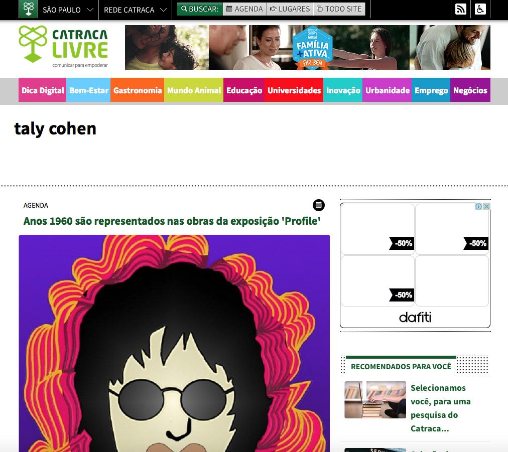 Site Catraca Livre Julho/15