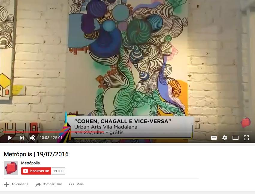 Tv Cultura - Julho 2016
