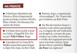 Estadão - Sonia Racy - Impresso