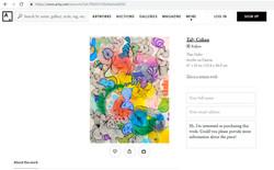 SITE INTERNACIONAL DE ARTE ARTSY