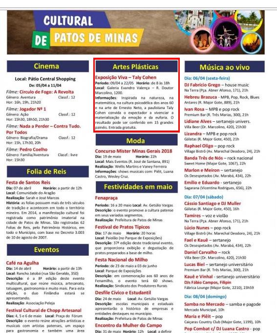 Agenda Pato de Minas