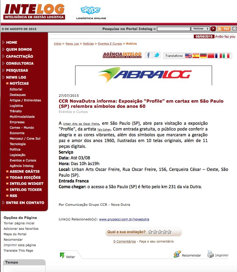 Site CCR Nova Dutra Julho/15
