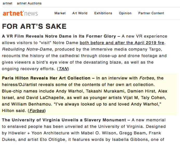 Site ArtNews (USA)