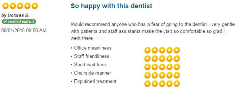 Patient Reviews, dental reviews, friendly dentist, dentist hamden, dentist New Haven, Connect Family Dental, inexpensive dentist, caring dentist, save your smile