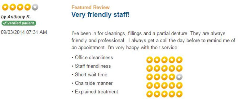 Patient Reviews, dental reviews, friendly dentist, dentist hamden, dentist New Haven, Connect Family Dental, inexpensive dentist, caring dentist, dentist for kids, family, teenagers, adults, elders