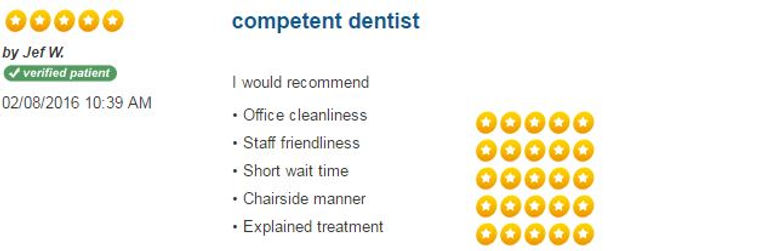Patient Reviews, dental reviews, friendly dentist, dentist hamden, dentist New Haven, Connect Family Dental, inexpensive dentist, nervous of dentist