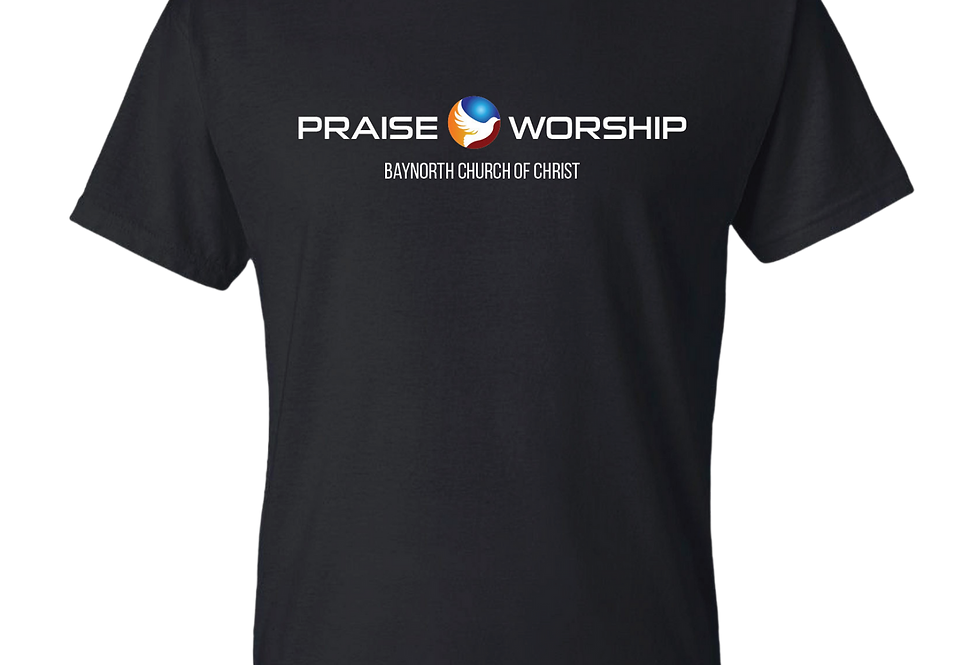 Praise & Worship Black Shirt