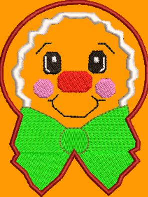 Gingerbread Boy No 1 - (4x4 & (5x7)