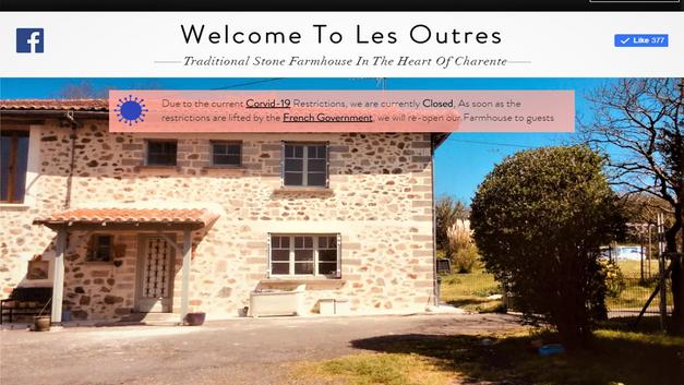 Les Outres Website