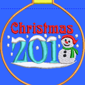Christmas Bauble 2018