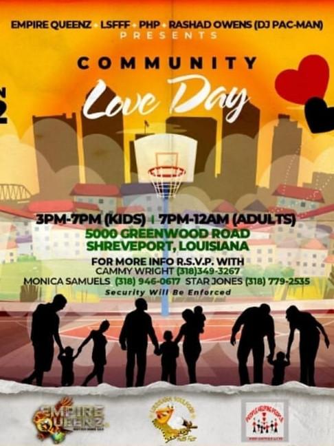 Community Love Day 2021
