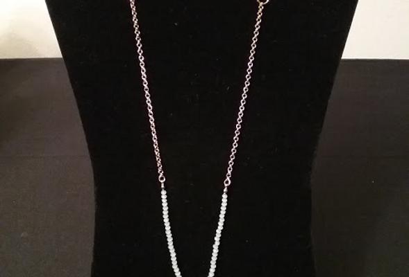Blood Orange Porcelain Necklace