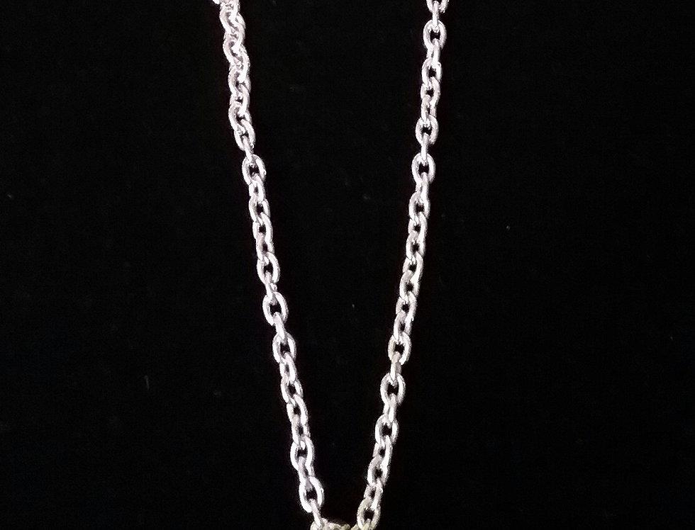 Men's Silver Pendant Necklace