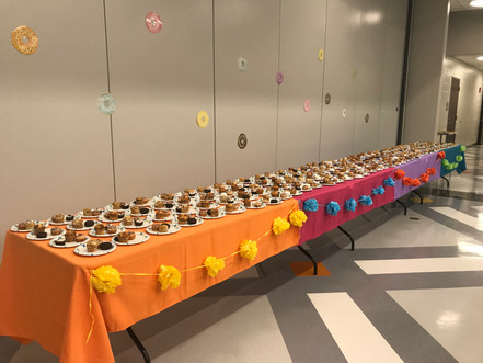 Second Grade Pastries with Parents